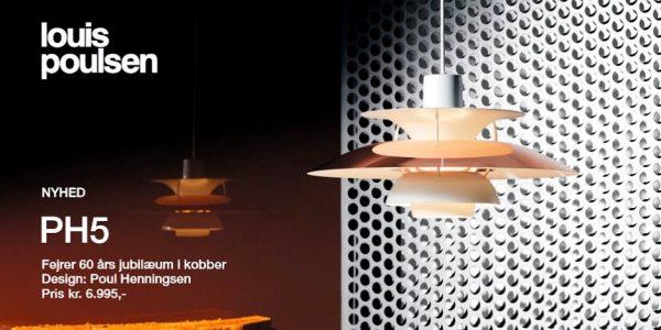 Louis Poulsen PH-5 kobber